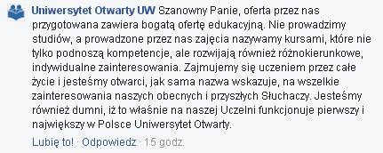 Uniwersytet Otwarty
