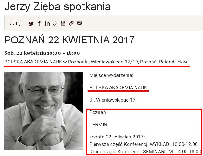 Jerzy Zięba Polska Akademia Nauk Poznań