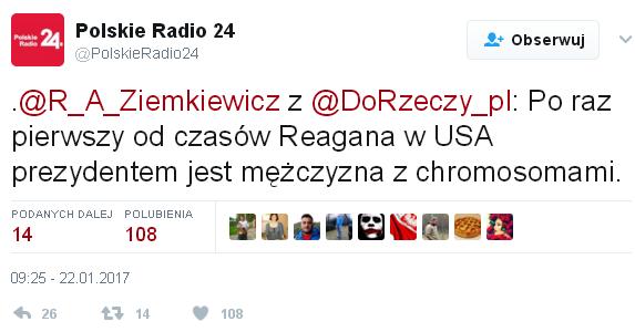 Rafał Ziemkiewicz Polskie Radio
