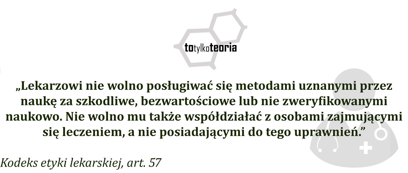 etyka lekarska doktor Kilarski