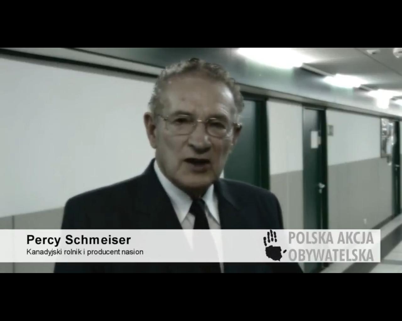 GMO Percy Schmeiser