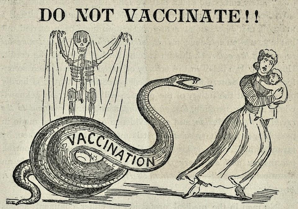 antyszczepionkowcy historia