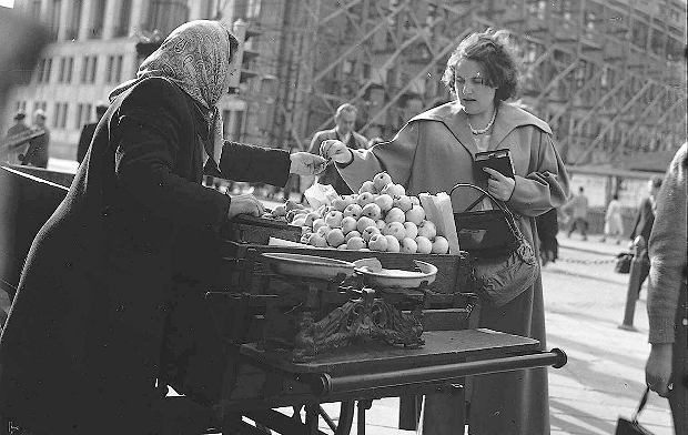 żywność kiedyś i dziś