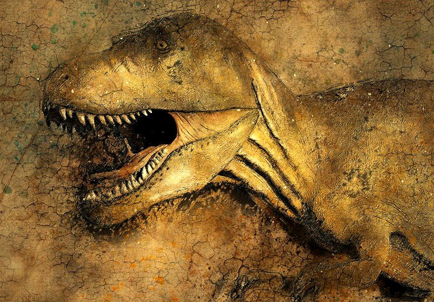 Dinozaury kopalne DNA aDNA