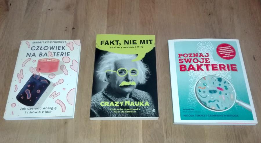 książki o wirusach bakteriach epidemii