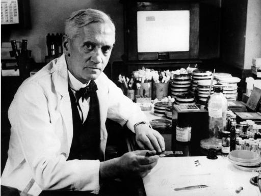 antybiotyki Alexander Fleming