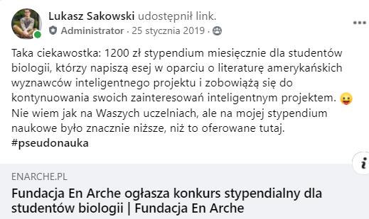 stypendium En Arche