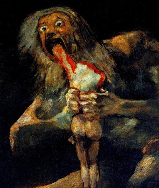 kanibalizm mitologia