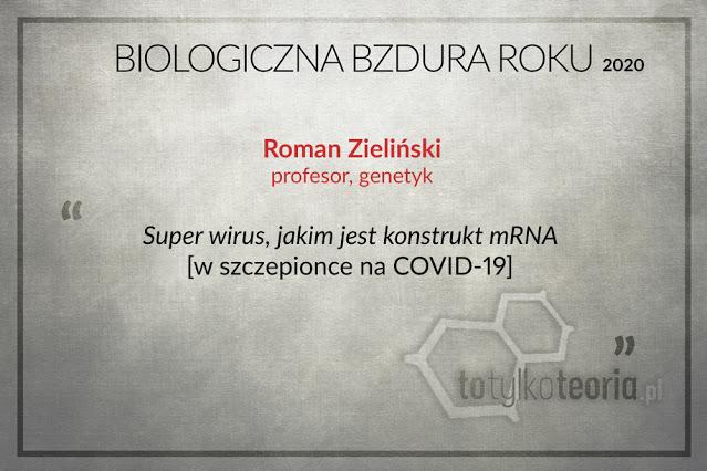 Roman Zieliński Biologiczna Bzdura Roku